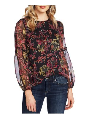 CeCe by Cynthia Steffe symphony balloon sleeve top