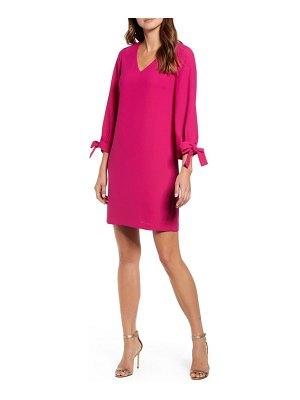 CeCe by Cynthia Steffe tie sleeve a-line dress