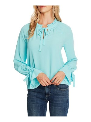 CeCe by Cynthia Steffe tie sleeve blouse