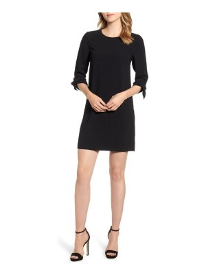 CeCe by Cynthia Steffe tie sleeve shift dress