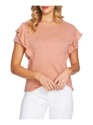 CeCe by Cynthia Steffe tiered ruffle sleeve top