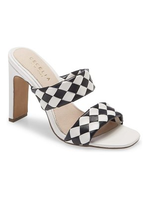 CECELIA NEW YORK cecilia new york east to west woven sandal