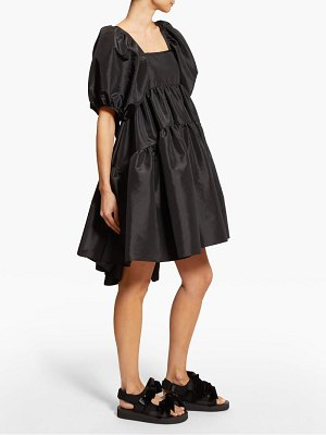 Cecilie Bahnsen ami puffed sleeve taffeta mini dress
