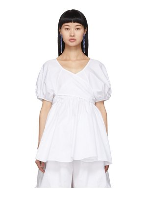 Cecilie Bahnsen angie puff sleeve blouse
