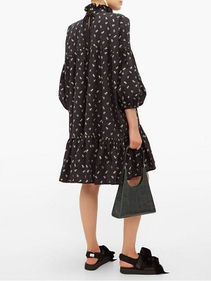 Cecilie Bahnsen belle floral print cotton mini dress