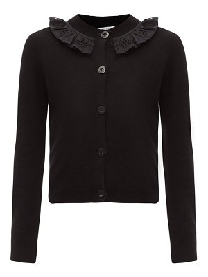 Cecilie Bahnsen farrah ruffled recycled cashmere-blend cardigan