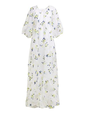 Cecilie Bahnsen maggie floral embroidered organza dress