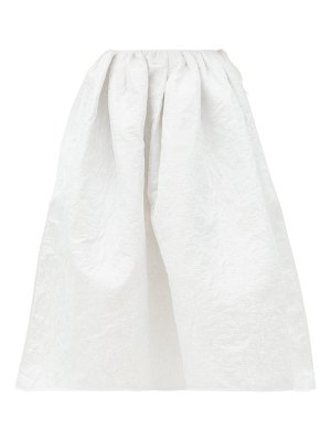 Cecilie Bahnsen mala quilted-faille skirt