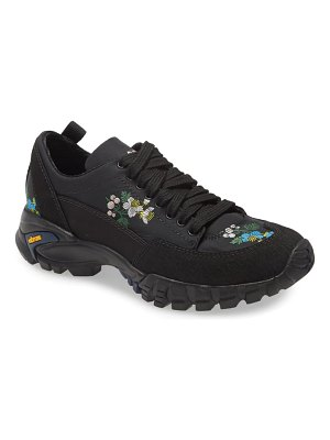 Cecilie Bahnsen max floral embroidered hiking sneaker