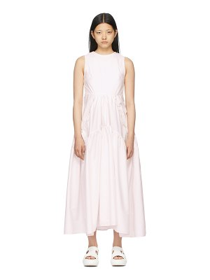 Cecilie Bahnsen pink backless hay dress