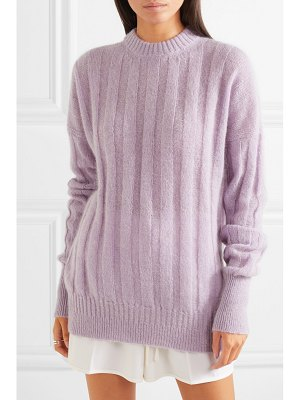 Cecilie Bahnsen ribbed wool-blend sweater