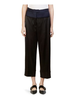 Cedric Charlier cropped pants