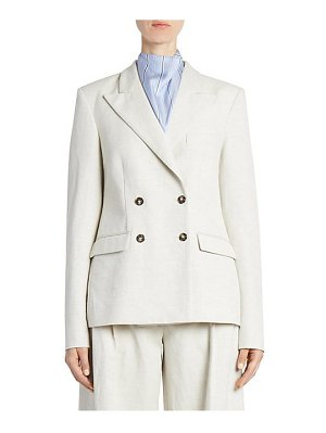 CÉDRIC CHARLIER double-breasted wool blazer