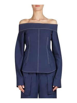 Cedric Charlier off-the-shoulder top