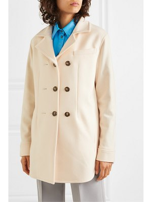 CÉDRIC CHARLIER oversized double-breasted wool-blend coat