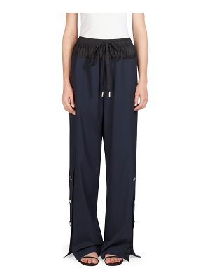 Cedric Charlier two-tone track pants