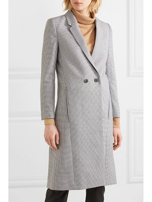 CEFINN houndstooth wool-blend coat