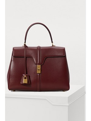 Celine 16 medium satiny calfskin leather bag