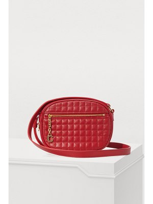 Celine C small model charm bag in quilted calfskin