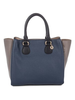 CELINE DION adagio tritone leather satchel