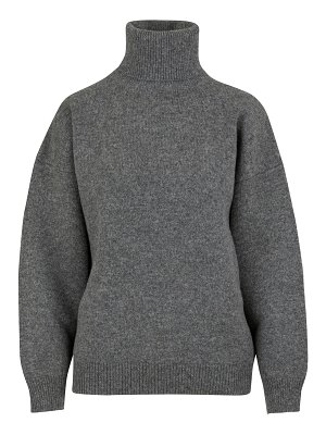 Celine Double-faced virgin wool and cashmere roll-neck jumper
