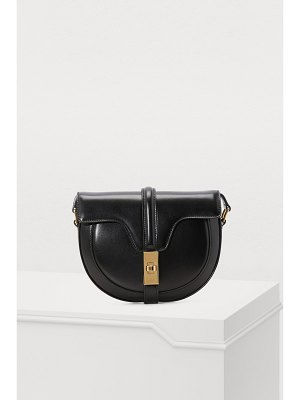 Celine Small Besace 16 bag in polished calfskin