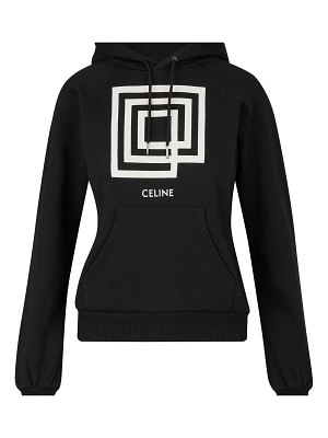 Celine Sweatshirt with show invitation 'Labyrinth' print