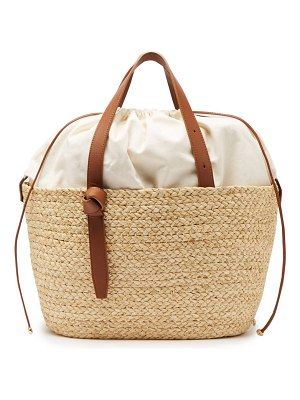 Cesta Collective large woven sisal basket tote