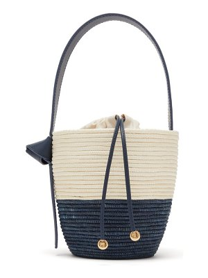Cesta Collective lunchpail woven sisal bucket bag