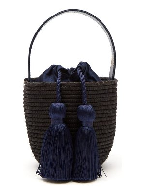 Cesta Collective party pail woven sisal bag