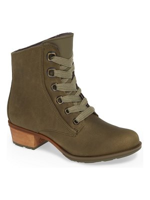 Chaco cataluna waterproof lace-up boot