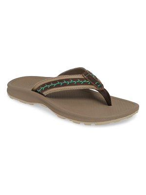 Chaco playa pro leather flip flop