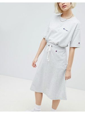 Champion Drawstring Midi Skirt With Side Logo