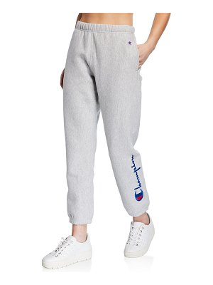 Champion Europe Reverse Weave Pull-On Terry Logo Sweatpants