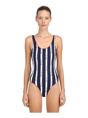 Champion Logo lycra one piece swimsuit