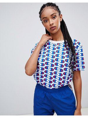 Champion oversized t-shirt with all over print
