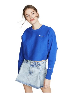 Champion Premium Reverse Weave cropped crew neck sweatshirt