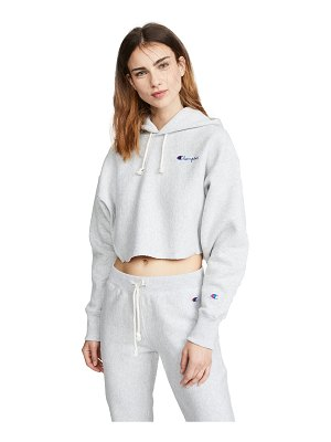 Champion Premium Reverse Weave cropped hooded sweatshirt