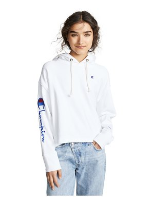 Champion Premium Reverse Weave maxi hooded sweatshirt