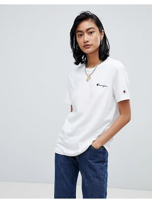 Champion Relaxed T-Shirt With Small Script Logo