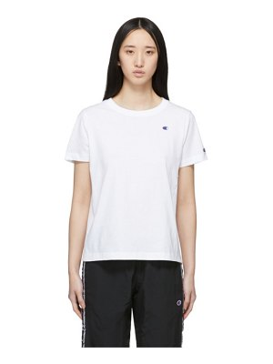Champion Reverse Weave white crewneck t-shirt