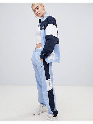 Champion Tracksuit Bottoms In Color Block two-piece