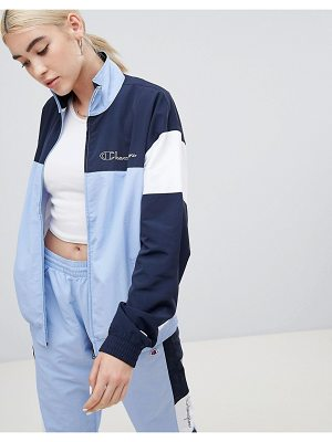 Champion Tracksuit Top In Colour Block co-ord