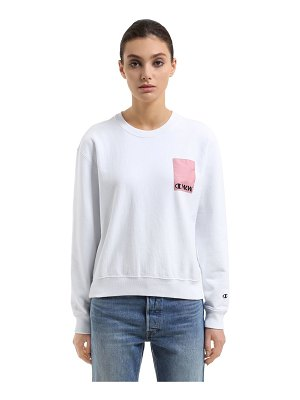 Champion Wood wood cotton terry sweatshirt