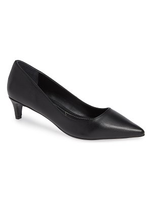 Charles by Charles David kitten pointy toe pump