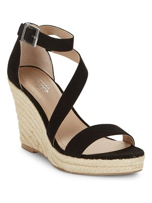 Charles by Charles David Lou Suede Espadrille Wedge Sandals