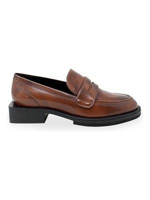 Charles David Delusion Brush-Off Leather Loafers