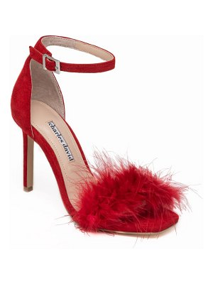 Charles David esquire feather sandal