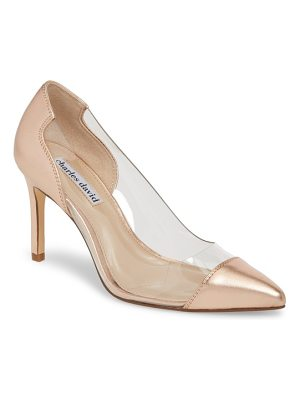 Charles David genuine transparent pump