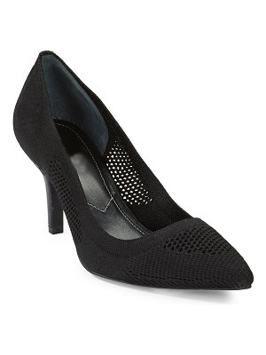 Charles David Strung Stretch Knit Mid Pumps